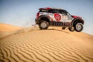 Abu-Dhabi-Desert-Challenge-6-300x200 Două echipaje MINI ALL4 Racing pe podium la Abu Dhabi Desert Challenge