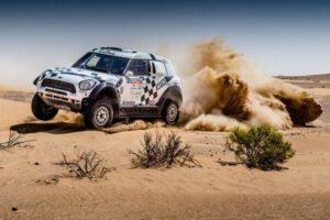 Abu-Dhabi-Desert-Challenge-Mini--300x200 Două echipaje MINI ALL4 Racing pe podium la Abu Dhabi Desert Challenge