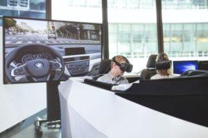 HTC-Vive-Lighthouse-2-300x200 BMW, primul constructor auto care introduce un sistem combinat de realitate virtuală