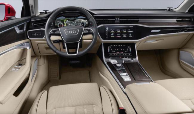 audi-a6-interior Audi a prezentat noul A6