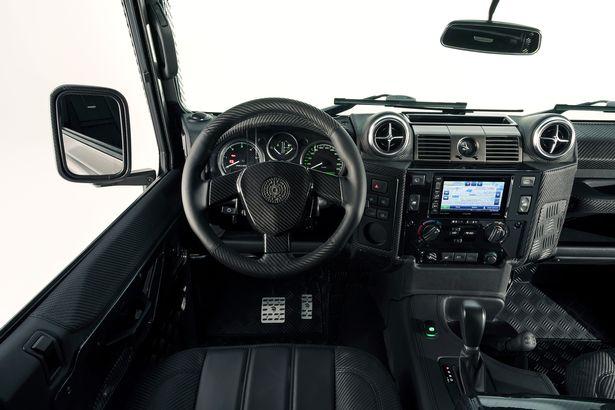 defender-interior Cel mai luxos SUV Land Rover Defender 4x4 a fost scos la vanzare
