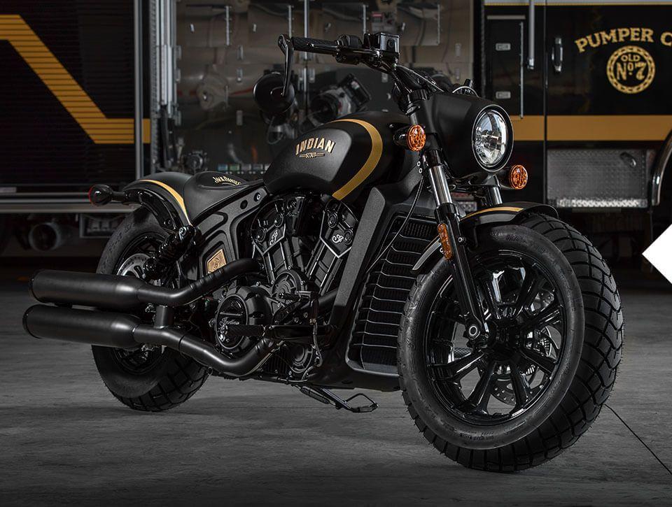 2018-jack-daniels-the-bike-lg Noua motocicleta Jack Daniel's Limited Edition Indian Scout Bobber s-a vandut  in mai putin de 10 minute.