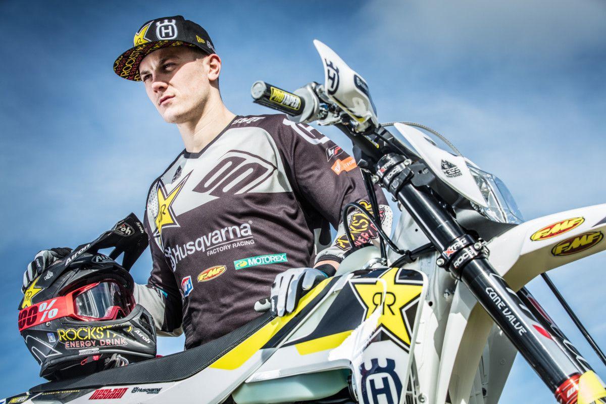 Billy-Bolt- Imagini si video oficiale - Echipa de enduro 2018 Rockstar Energy Husqvarna Factory Racing Enduro Team