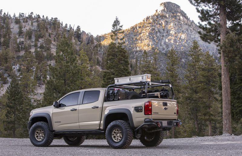 bison1 Chevrolet prezinta o versiune hardcore off-road a modelului Colorado