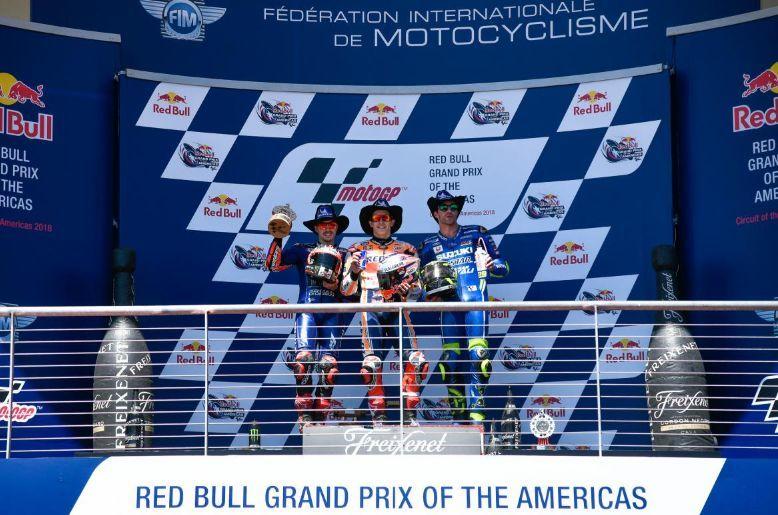 motogp-podium MotoGP: Marc Marquez a castigat cursa din Texas
