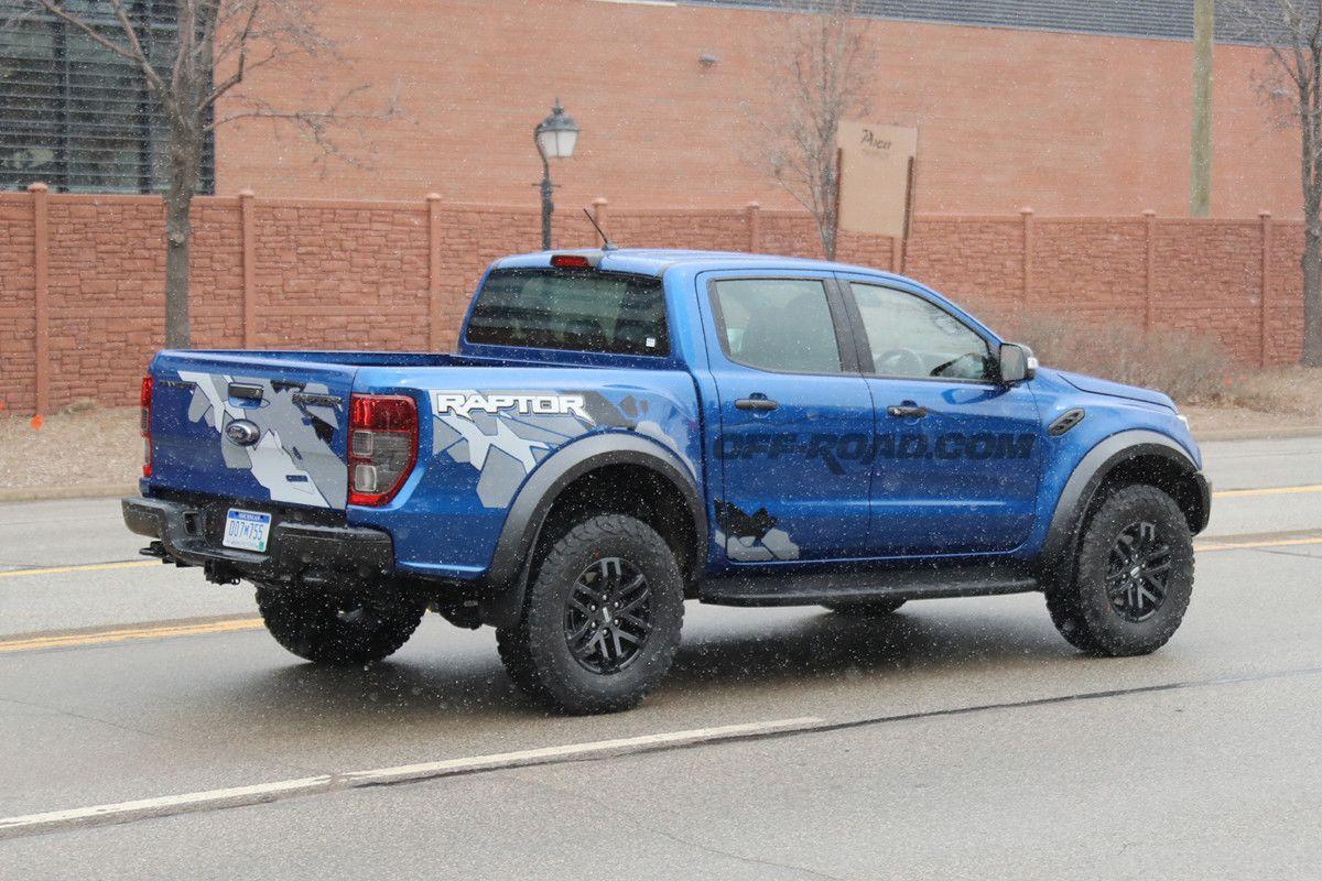 raptor1 Mult asteptatul Ford Ranger Raptor, surprins in teste
