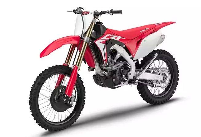 250rx Honda a prezentat noua gama de motociclete pentru off-road