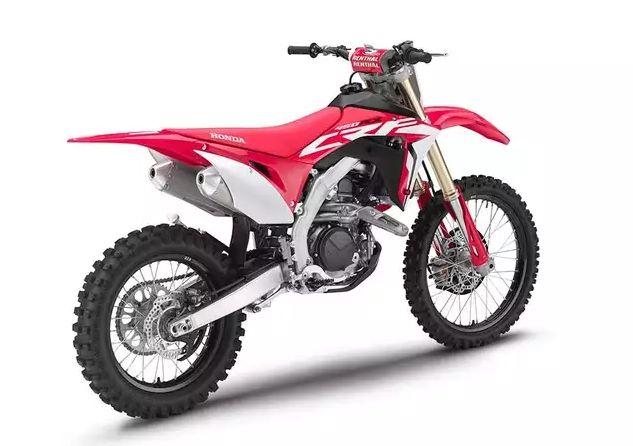450rx Honda a prezentat noua gama de motociclete pentru off-road