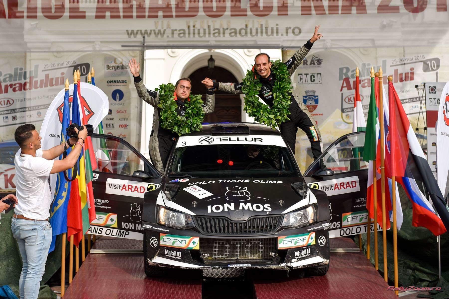 5B721F88-0F2A-46F4-8D13-208231C07D80 Vali Porcișteanu și DTO Tellur Rally Team au găsit în Vest pepitele succesului