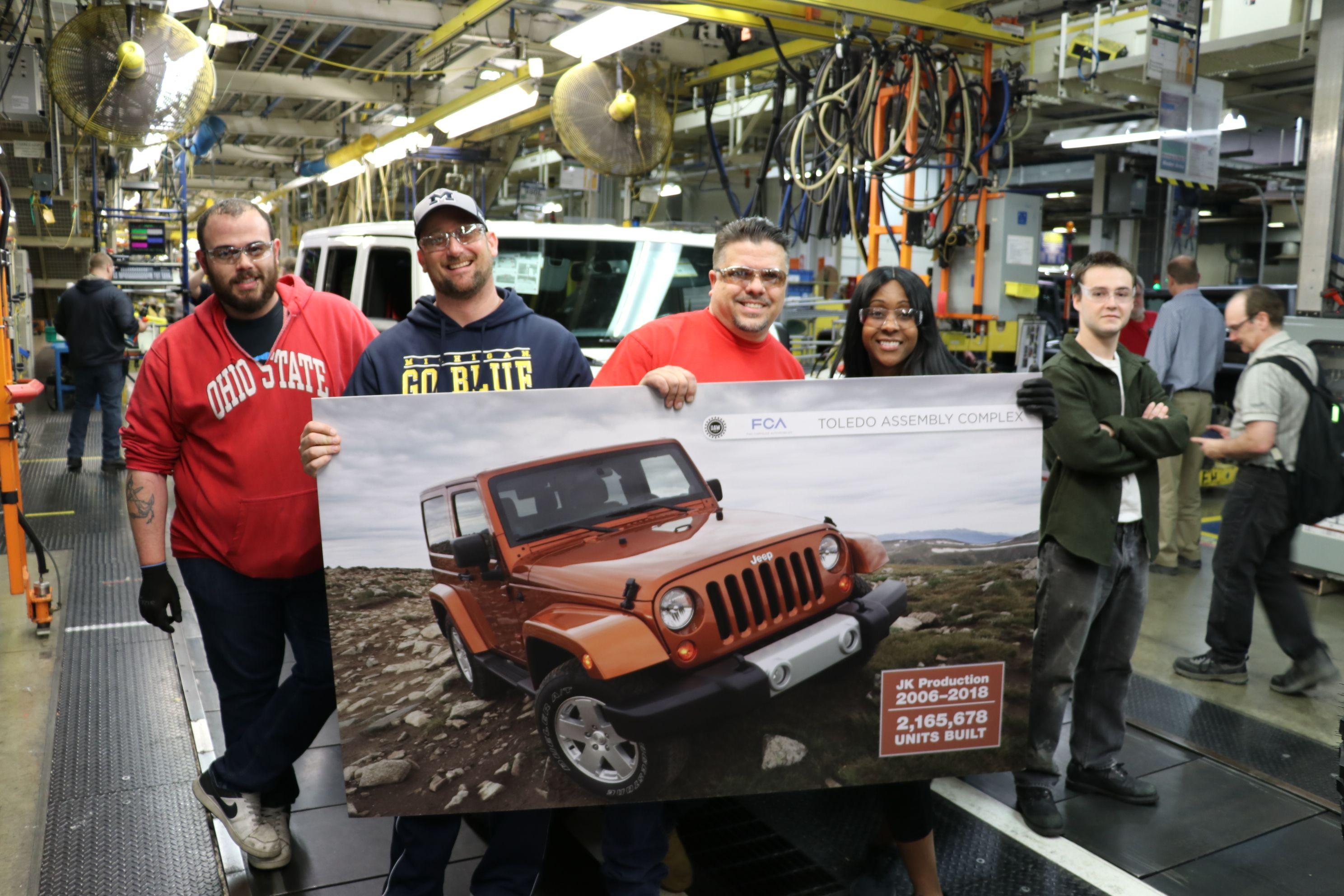 jeep3 Jeep nu va mai produce modelul Wrangler JK