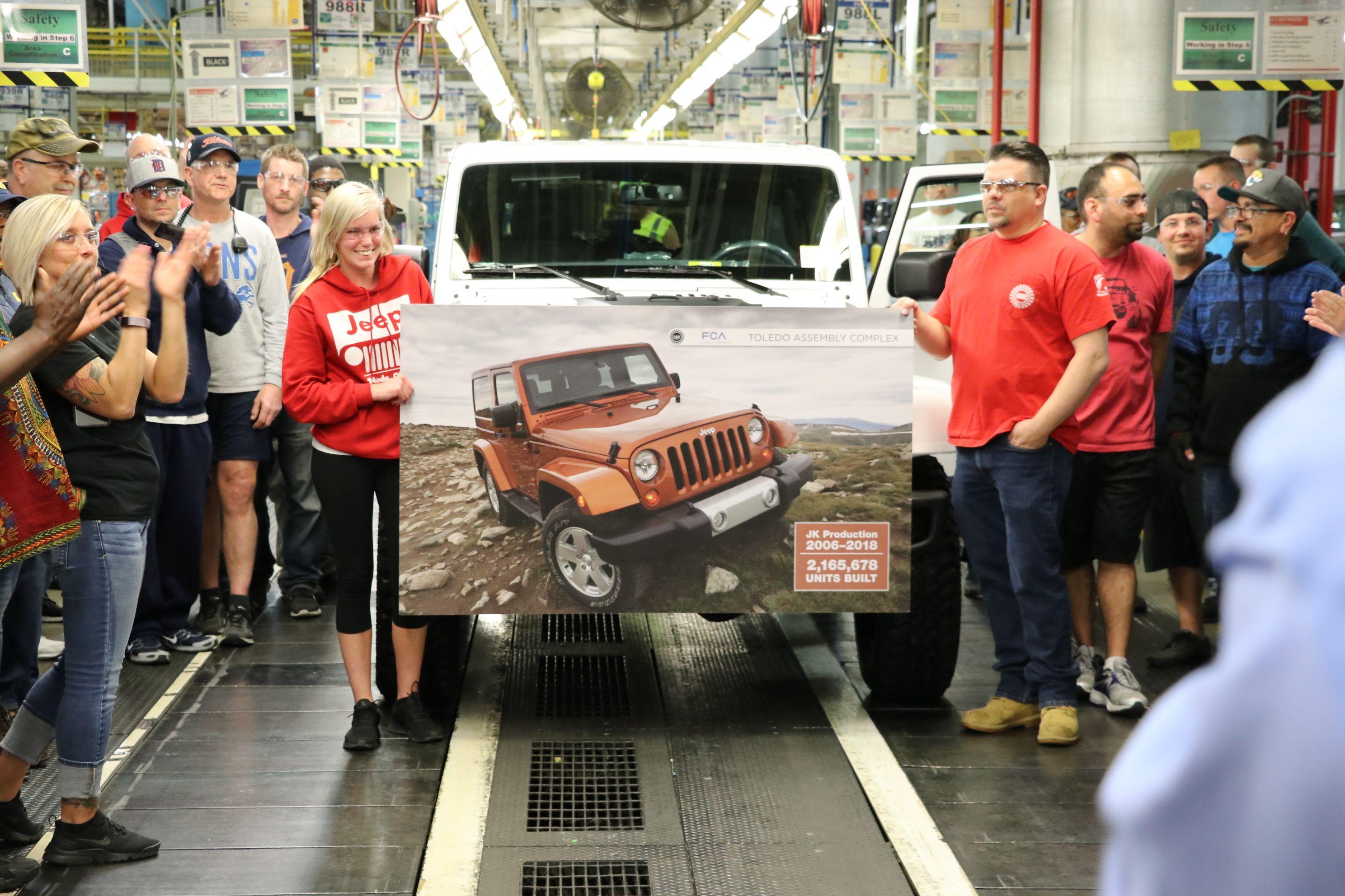 jeep4 Jeep nu va mai produce modelul Wrangler JK