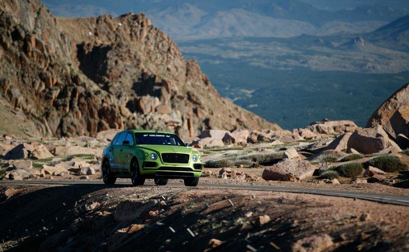 bentayga2 Bentley Bentayga a doborat recordul pe Pikes Peak (Video)