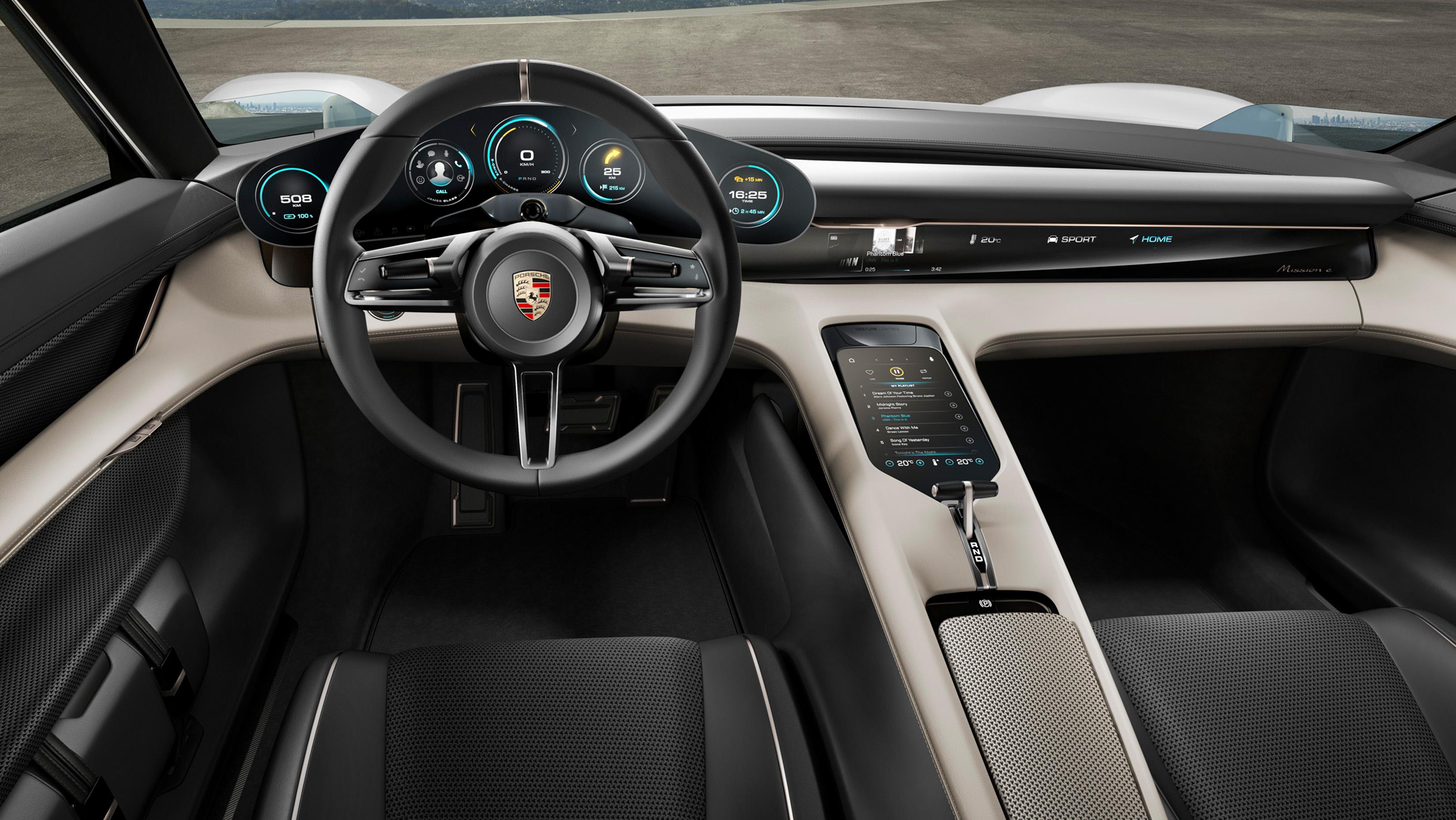 porsche-taycan2 Porsche Taycan ameninta suprematia Tesla