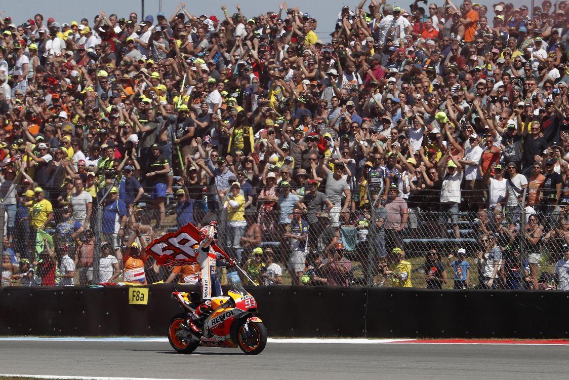 marc-marquez MotoGP 2018: Marc Marquez a triumfat in Olanda