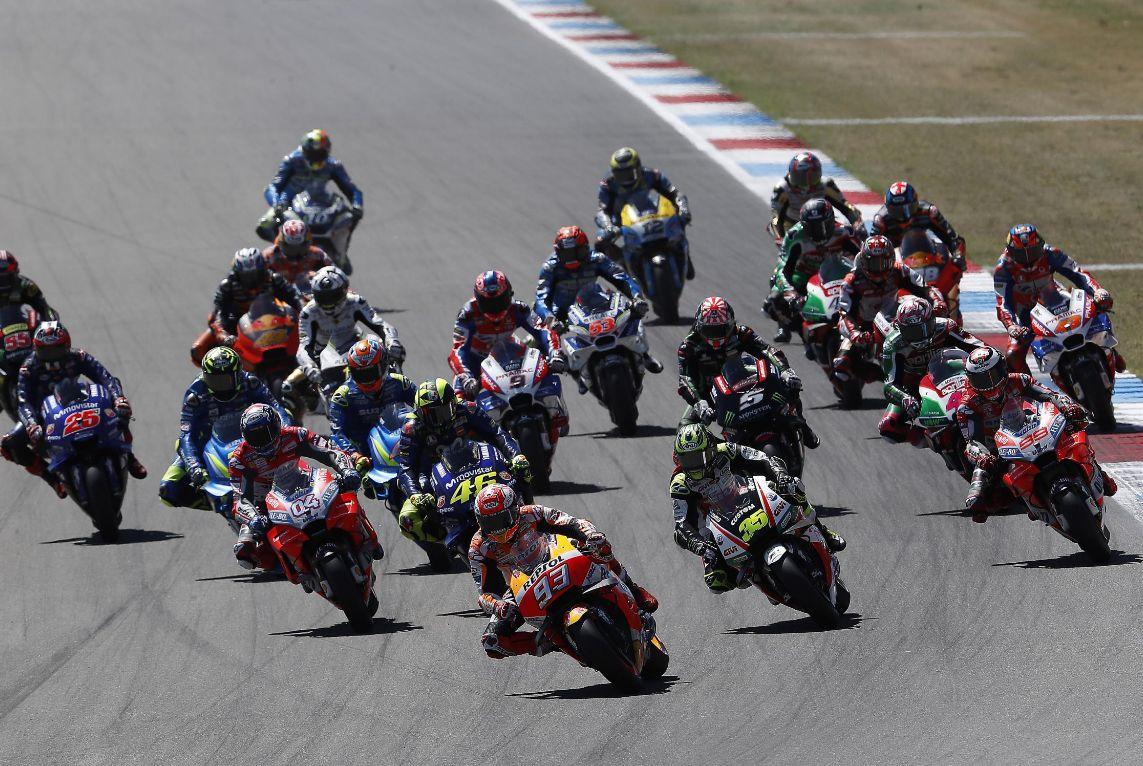 moto-gp-grup MotoGP 2018: Marc Marquez a triumfat in Olanda
