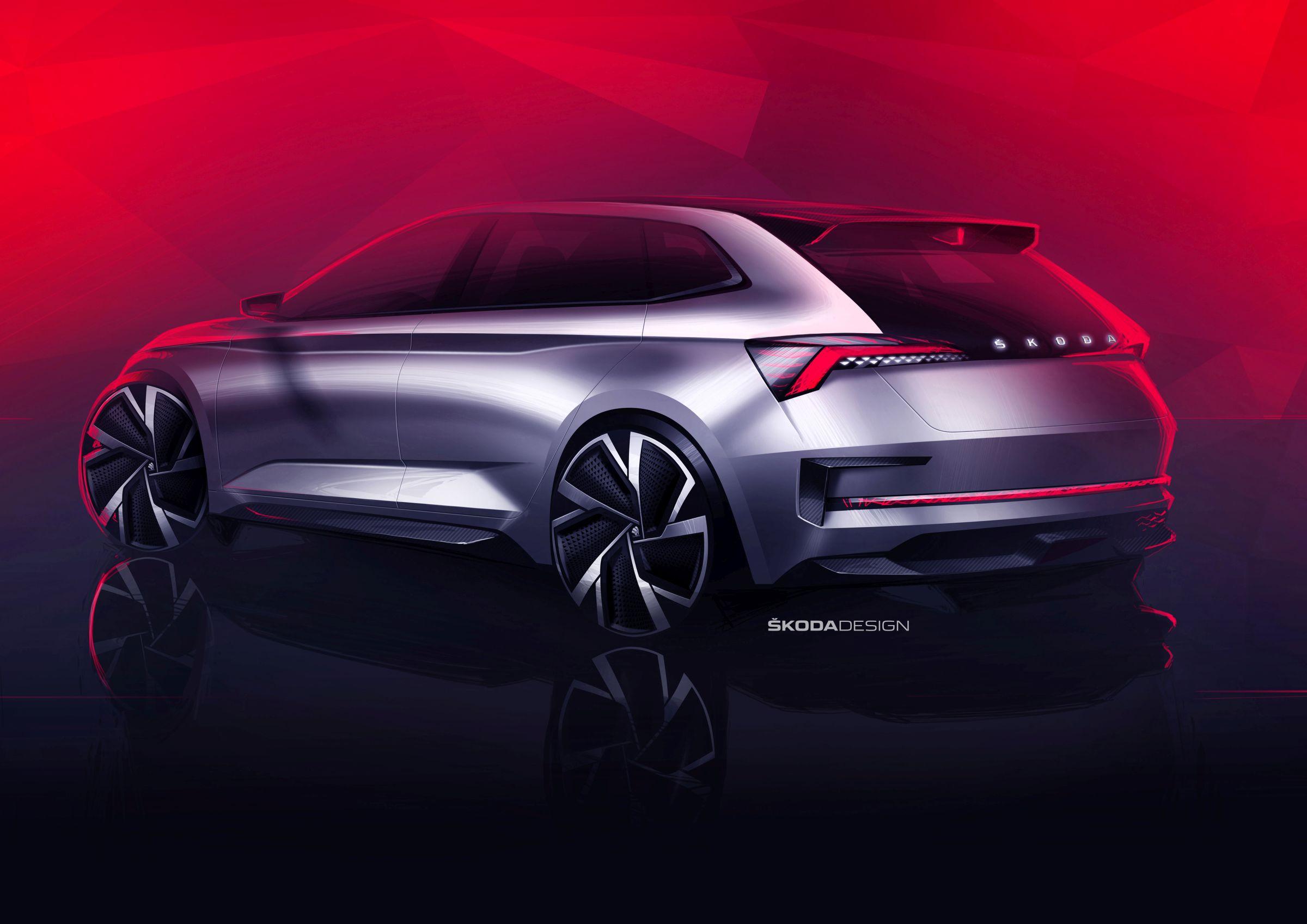 skoda-vision-rs-spate Skoda anunta o noua masina compacta