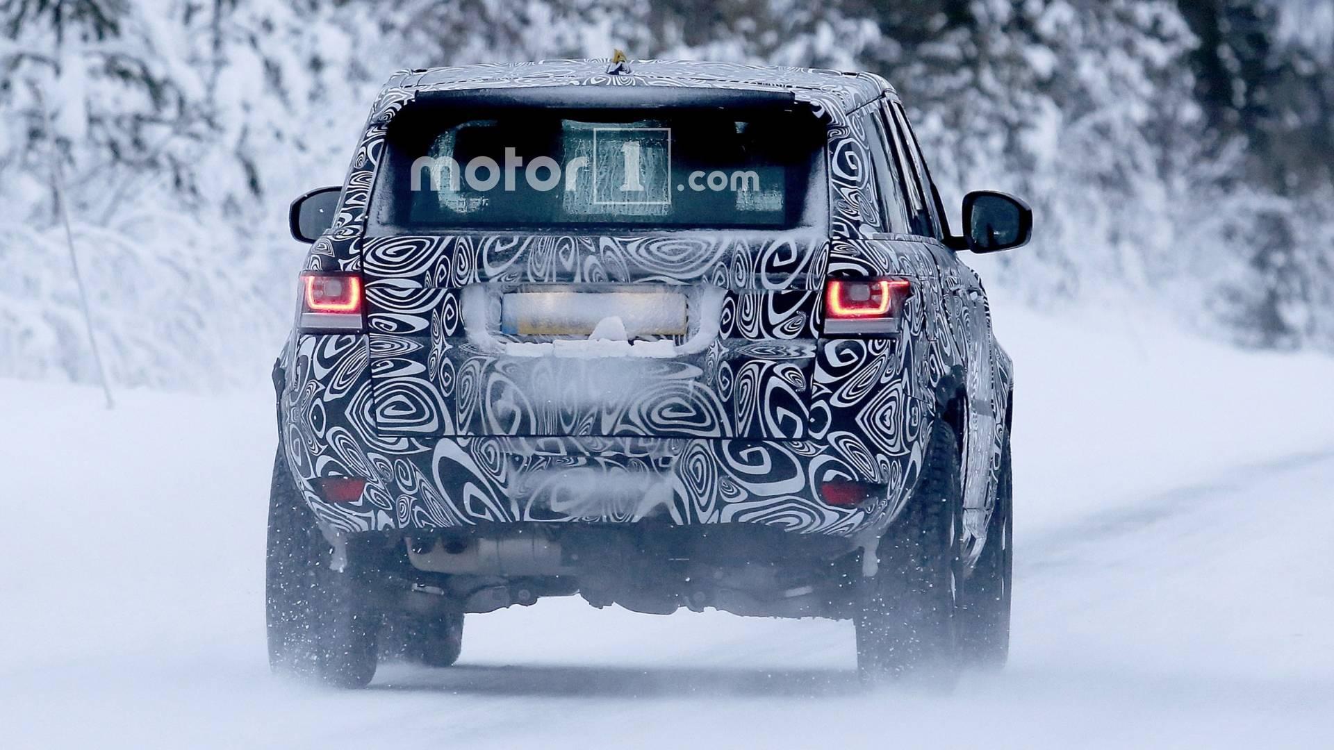2019-land-rover-defender-spy-photo-4 Land Rover Defender Sport vine ... in 2026