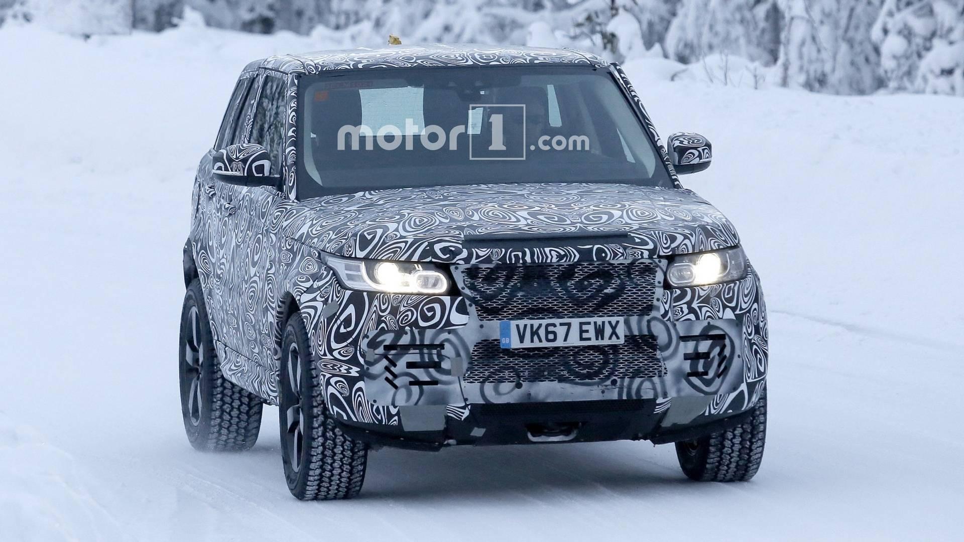 2019-land-rover-defender-spy-photo Land Rover Defender Sport vine ... in 2026