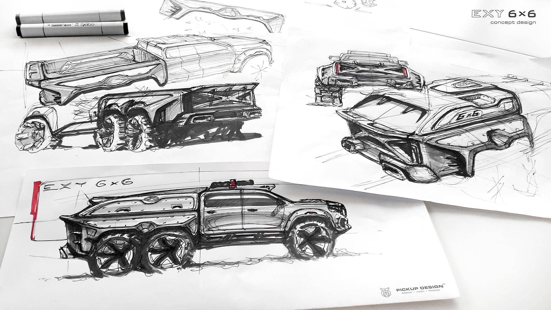 mercedes-benz-x-class-6x6-by-carlex-design-3 Mercedes X-Class 6X6 de la Carlex va fi un monstru off-road