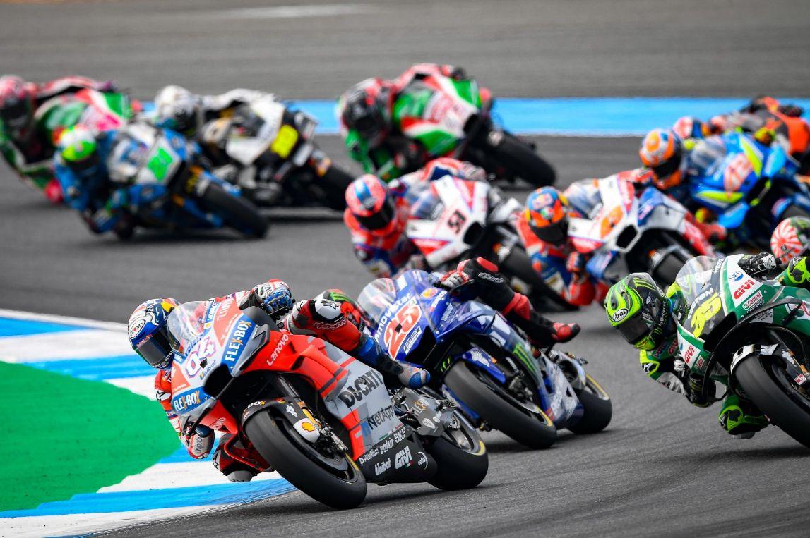 motogp4 MotoGP: Marc Marquez s-a impus greu in Thailanda