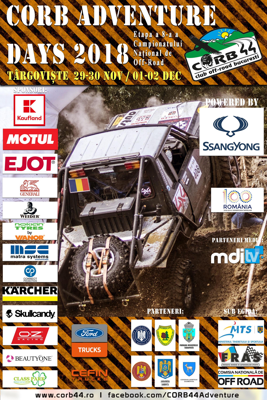 Poster-corb Ultima etapa din Campionatul National de Off Road, la Targoviste