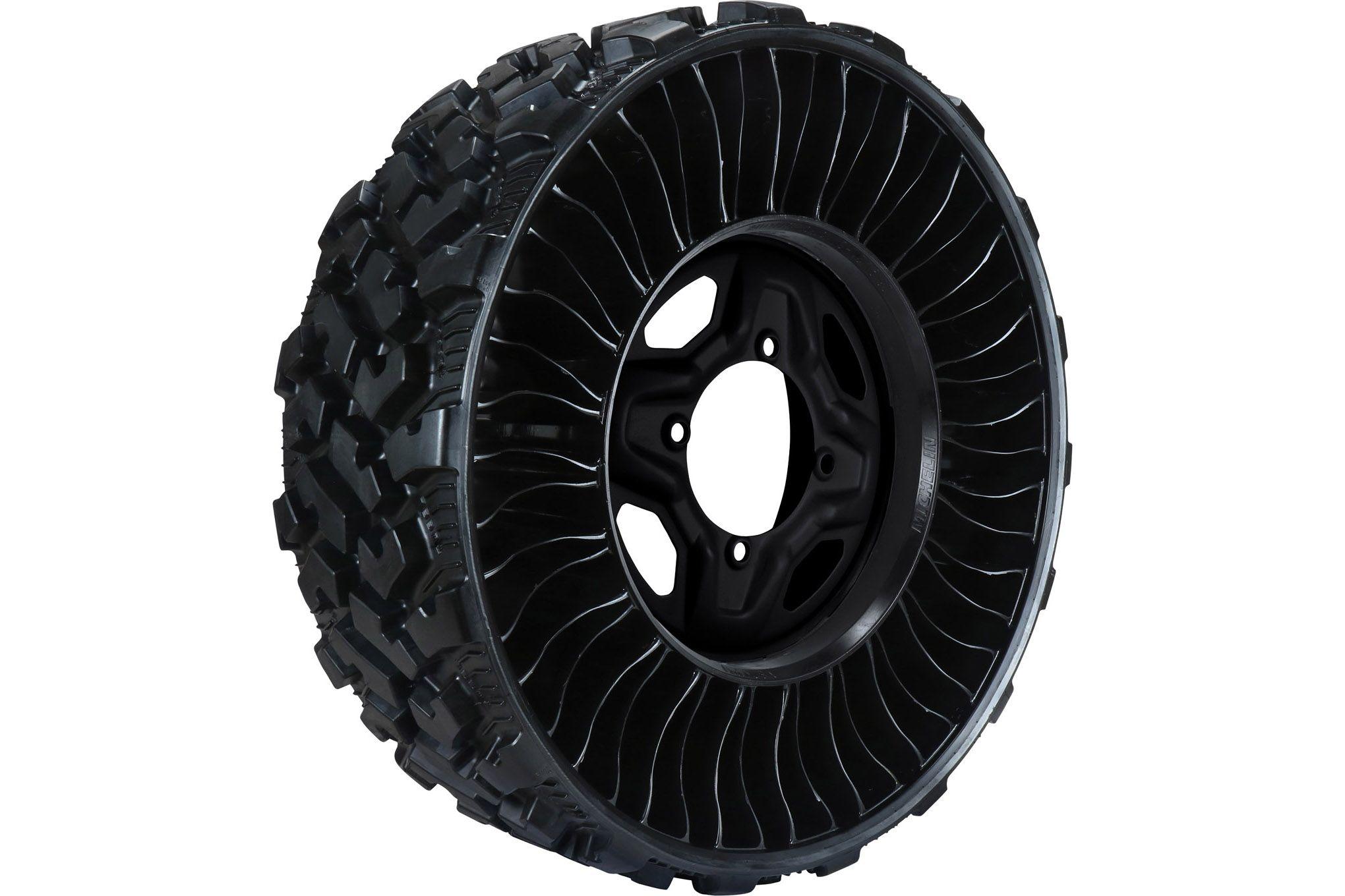 michelin-tire-airless-radial-tire Michelin lanseaza noua anvelopa fara aer pentru piata de UTV-uri
