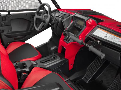 2019-Honda-Talon-1000R-Cockpit Honda a dezvaluit noul SSV TALON 1000X si TALON 1000R