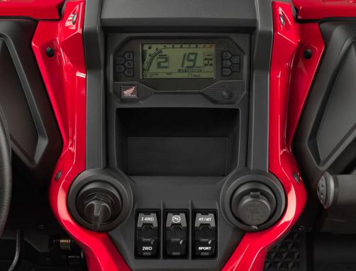 2019-Honda-Talon-1000R-Display Honda a dezvaluit noul SSV TALON 1000X si TALON 1000R