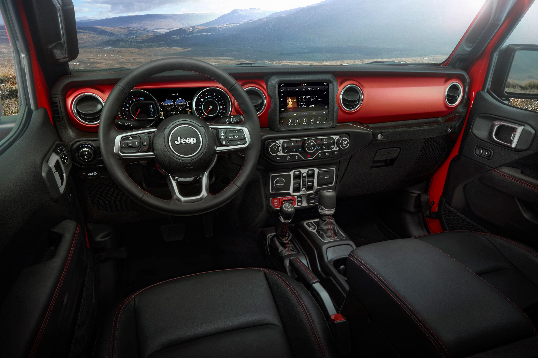 jeep-dashboard Noul Jeep Gladiator si tot ce trebuie sa stim despre el