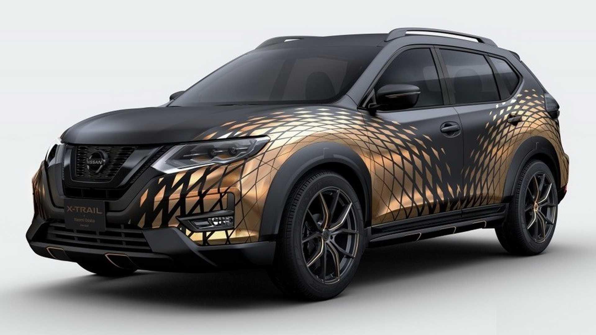 nissan-x-trail-naomi-osaka-concept Nissan Juke Snowmobile si alte exclusivitati se indreapta spre Salonul Auto Tokyo