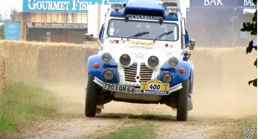 2CV Raliul Dakar si cinci modele inedite