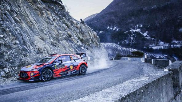 WRC-2019-Raliul-Monte-Carlo-Neuville WRC 2019- Raliul Monte Carlo: Ogier devine lider