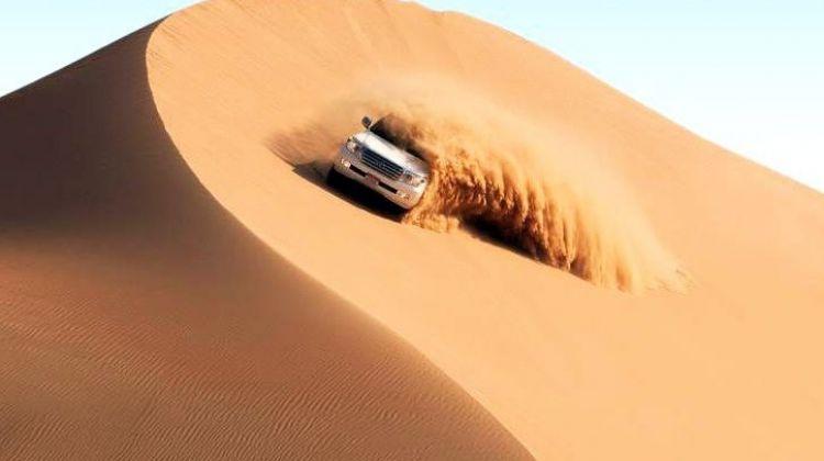 dune-bashing Ghidul aventurilor 4x4: Domenii off-road