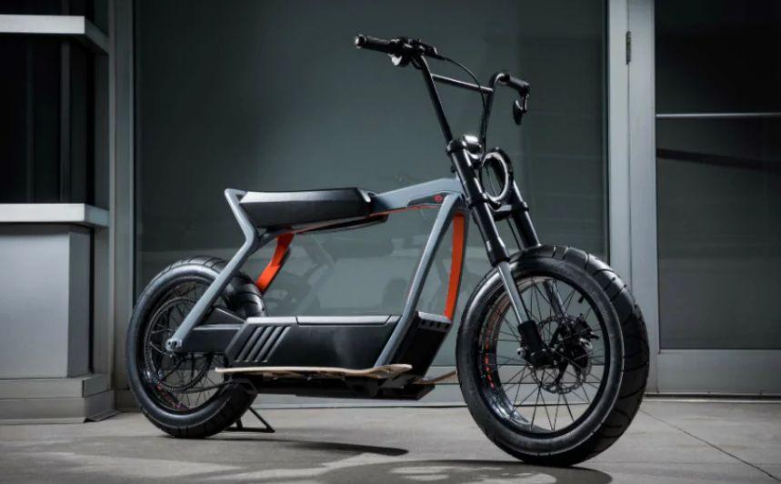 scuter-electric Harley-Davidson a dezvaluit doua concepte electrice