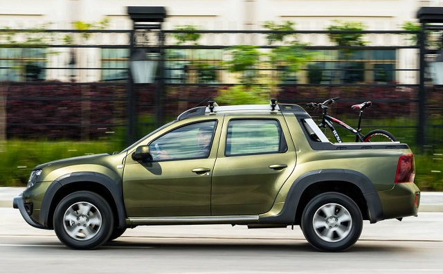Dacia-Duster-Pickup-Truck-side-view Duster Pick-Up, principala noutate Dacia in 2019!
