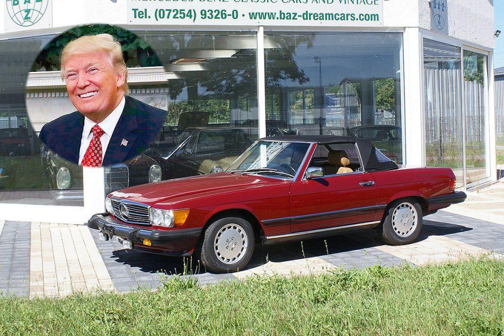 Trump-2-1024x683 Ingratul Donald Trump: in fapt, iubeste masinile germane!