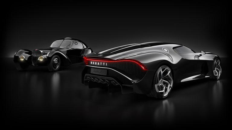 16, 7 milioane euro Bugatti La Voiture Noire