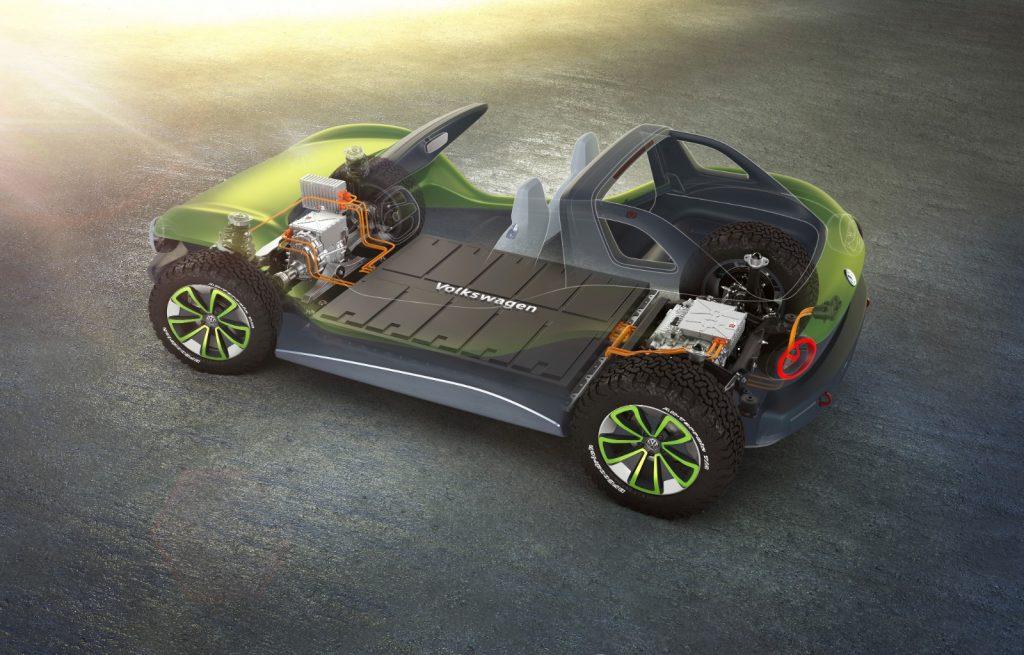 ID-Buggy-1-1024x655 Salonul Auto de la Geneva 2019: Volkswagen ID Buggy, aventura electrica cu 204 CP