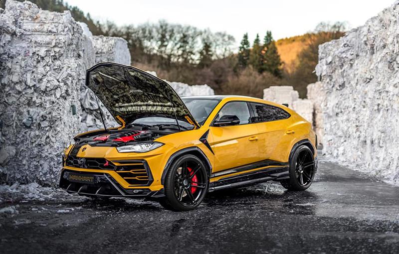 Lamborghini-Urus-Manhart_2 Lamborghini Urus tunat? Cum arata? Va dam doua variante!