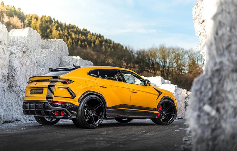 Lamborghini-Urus-Manhart_3 Lamborghini Urus tunat? Cum arata? Va dam doua variante!