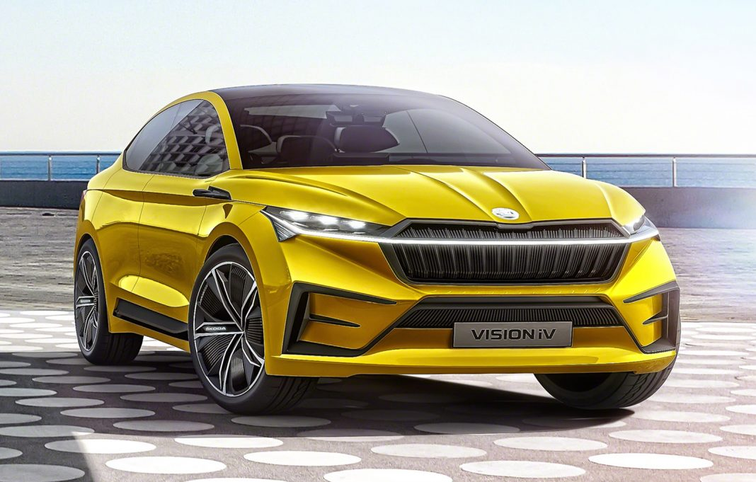Salonul Auto de la Geneva 2019-Skoda Vision iV