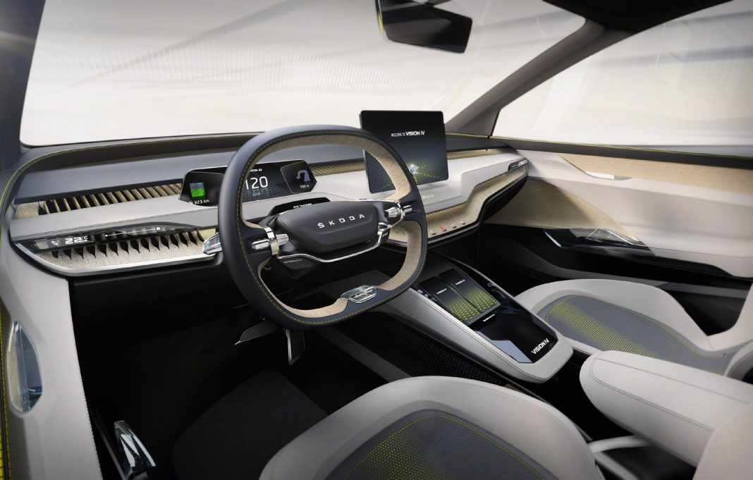 Skoda-Vision-iV_3-1068x681 Salonul Auto de la Geneva 2019: Skoda Vision iV, idei pentru Nissan Qashqai