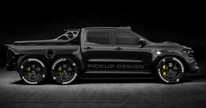 pick-up-1 Monster X, pick-up pentru Odiseea Spatiala!