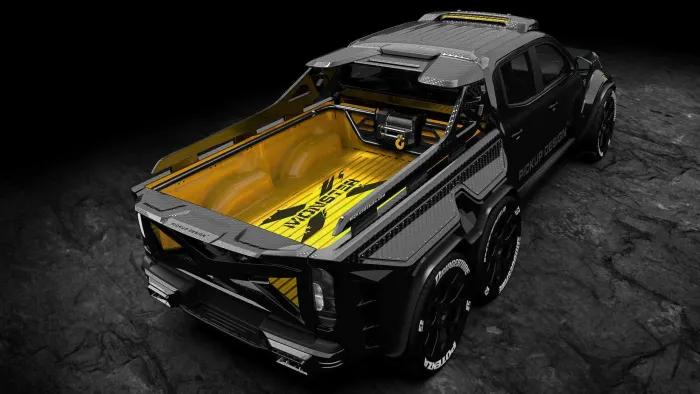 pick-up-5 Monster X, pick-up pentru Odiseea Spatiala!