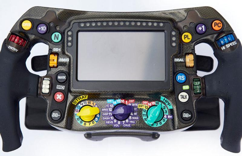 volan Cum reusesc pilotii sa se descurce cu volanul de Formula 1