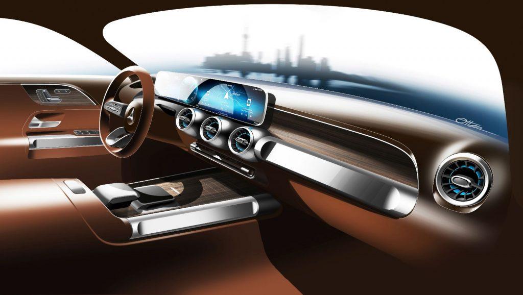 Mercedes-Benz-GLB11-1024x578 Mercedes-Benz a adus conceptul GLB la Shanghai!