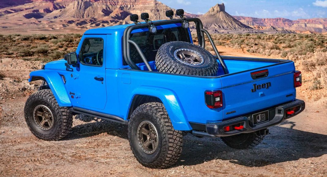 jeep-j6-concept-1-1068x580 Jeep Easter Safari 2019: 6 concepte pentru Gladiator