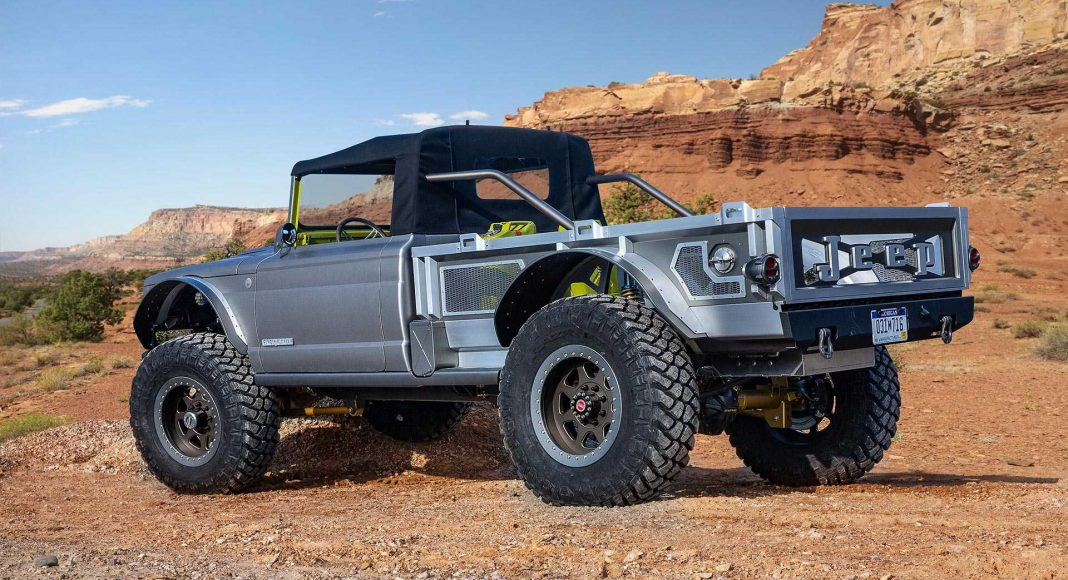jeep-m-715-five-quarter-concept-1-1068x580 Jeep Easter Safari 2019: 6 concepte pentru Gladiator