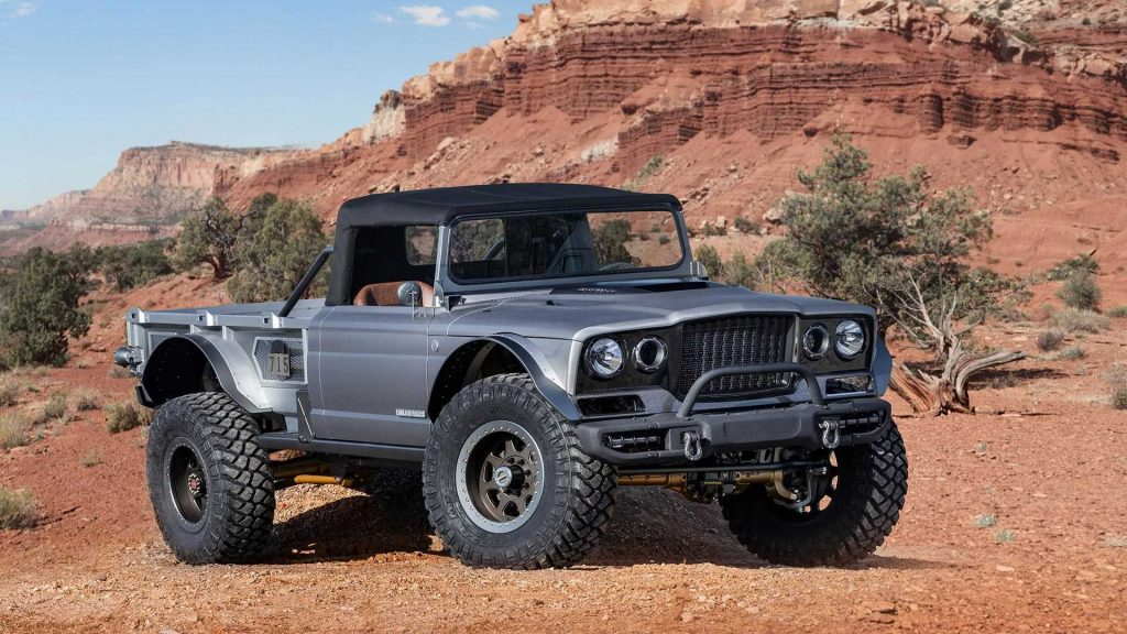 jeep-m-715-five-quarter-concept-1024x576 Jeep Easter Safari 2019: 6 concepte pentru Gladiator
