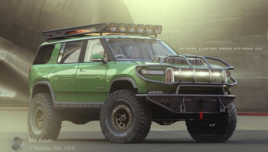 Rivian R1S Extreme Off Roader